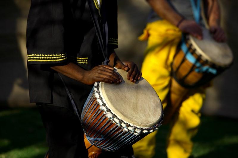 La musique africaine me transporte