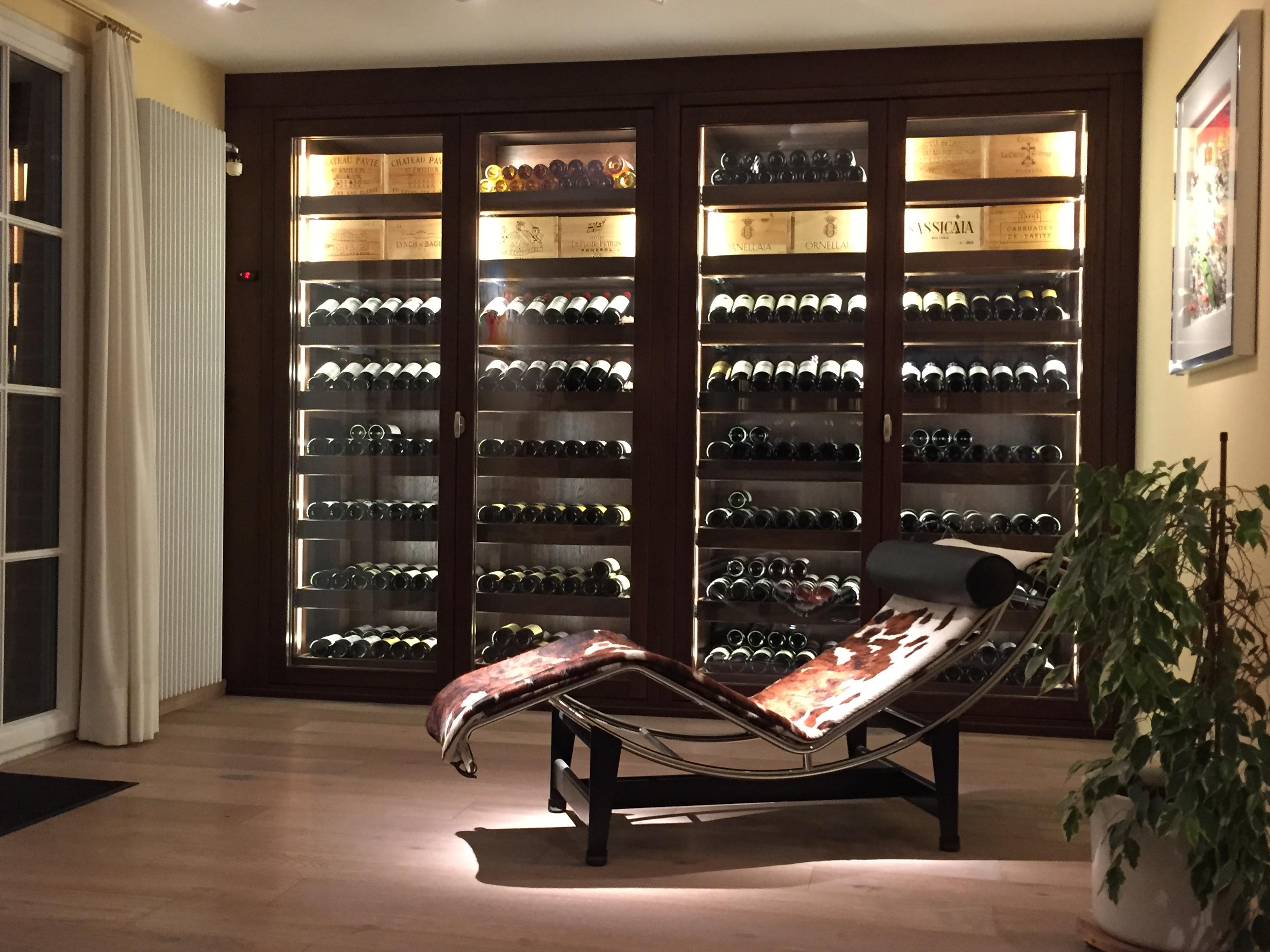 Vos bouteilles de vins sont mieux prot g es avec - Temperature ideale cave a vin electrique ...
