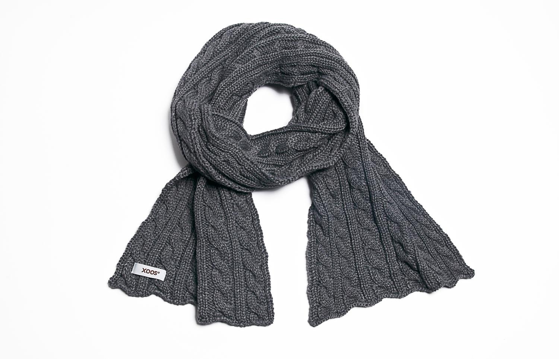 Echarpe grise pour avoir bien chaud - Toutes les couleurs grises ...