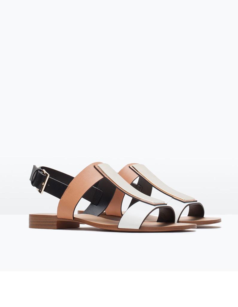 Zara chaussures, j'aime beaucoup leur ligne de mode