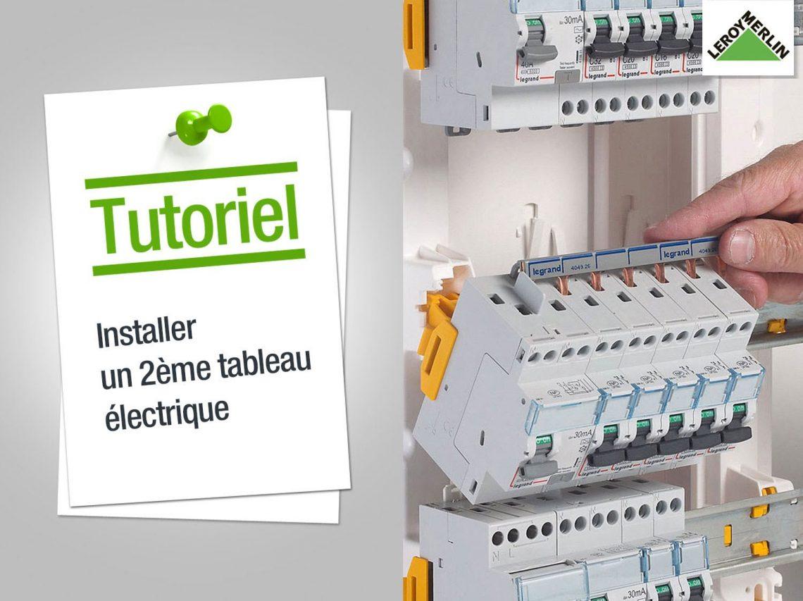 Comment installer un tableau electrique ?