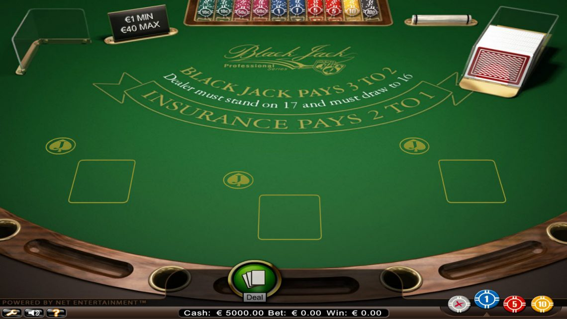 Blackjack : je joue souvent au blackjack