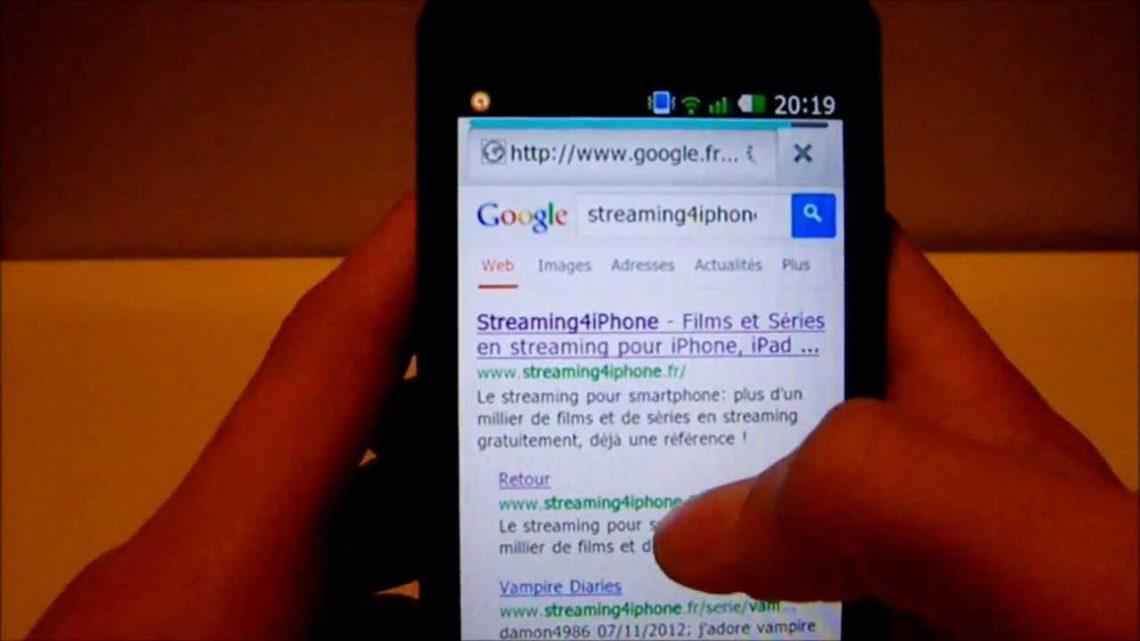 Comment telecharger un film sur portable